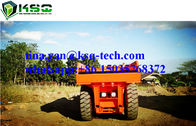 RT-15 Hydropower Low Profile Dump Truck For Mining , Quarrying , Construction
