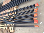 Hex Extension Threaded Rock Drill Rod R38 High Strength For Quarrying / Construction
