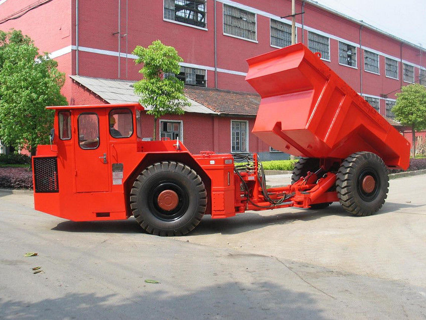 6 Cubic Meter RT-12 Low Profile Dump Truck for Medium Scale Rock Excavation