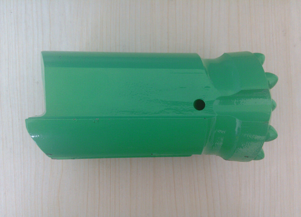 R32 R38 Rock Drill Thread Retrac Button Bit For Mining Rock Drill Machinery , Green Color