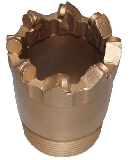 Nq Core Drill Bit For Soft To Medium Hard Rocks Coring , Carbon Steel Pdc Core Bit