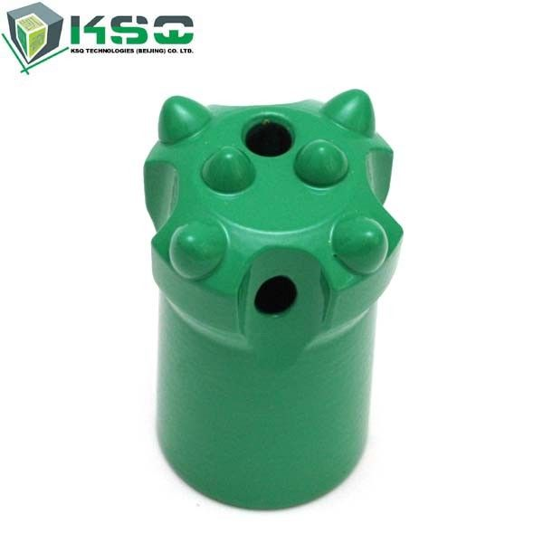 R25 Button Drill Bit Short Skirt Ballistic Buttons Dia 33-45mm