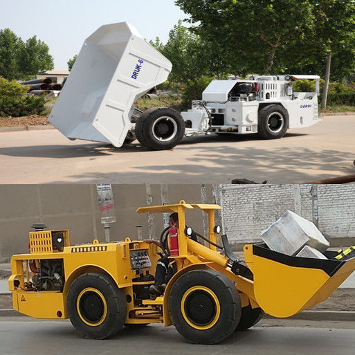 Low Profile Heavy Duty Dump Truck Easy Operation For Underground Mining