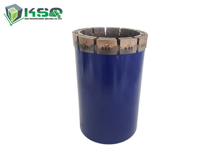 Blue Color PDC Drill Bit / Hard Rock Stone Drill Bit High Hardness Alloy Steel Material