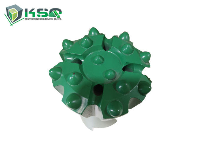 Tungsten Carbide Mining Drill Bits With R28 R32 Threaded Spherical and Ballistic Buttons