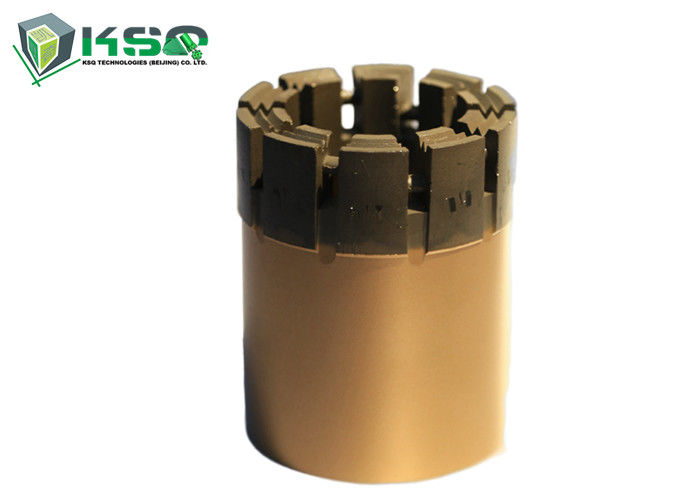 "Precision Diamond Core Bit For Hard Rock Flat Bit Profile 1.82"" - 5.76"" Diameter"