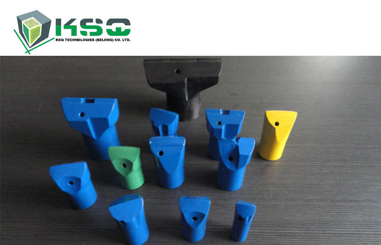 Tungsten Carbide Drill Bit Tapered Hardened Steel Drill Bits Blue Green